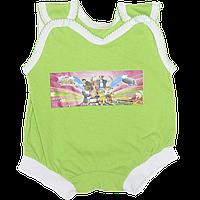 Песочник-майка, цветной, тонкий хлопок, ТМ Baby art, р. 56