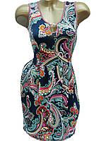 Облегающие женские платья на лето (в расцветках 44,46)