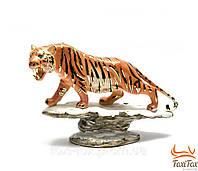 """Фарфоровая статуэтка """" Тигр """" 18 см"""