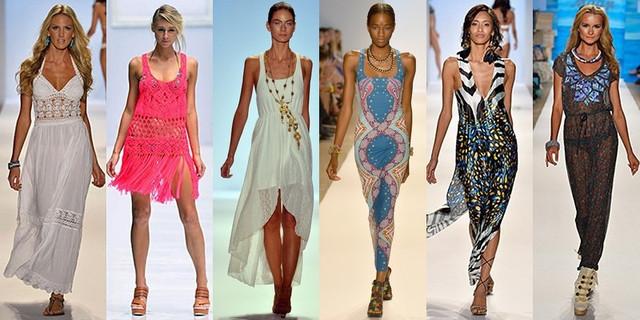 длиные платья микромасло