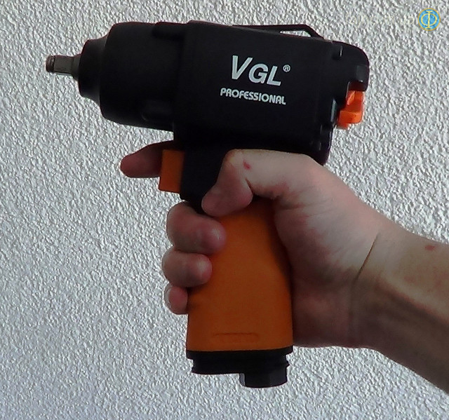 Пневмогайковерт ударный VGL SA-2123P Air Pro Professinal фото 2