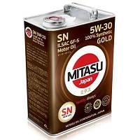 Моторное масло Mitasu 5W30 SN 4литра