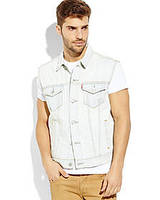 Мужской жилет LEVI'S Light Wash Denim Trucker Vest