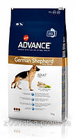 Advance (Эдванс) Dog Maxi German Shepherd (12 кг) корм для взрослых немецких овчарок индейка рис