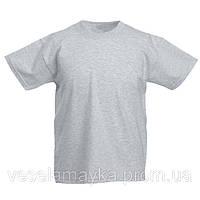 Серая детская футболка (Комфорт)
