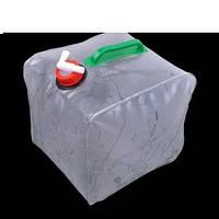 Складная компактная канистра для воды 10л