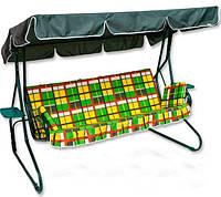 Качели садовые Люкс-2 (раскладывается в виде дивана)
