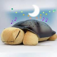"""Светильник Черепаха """"Звездное небо"""" с музыкой"""