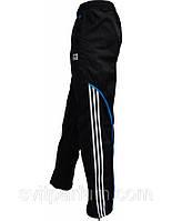 Мужские спортивные брюки, штаны Adidas из плащевки без подкладки, одежда, спортмастер