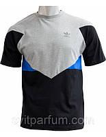 Мужская футболка Adidas из хлопка, одежда Харьков, брендовые футболки
