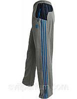 Мужские спортивные брюки, штаны Adidas трикотаж легкие, одежда для подростков, спортмастер