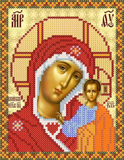 """Схема иконы """"Богородица"""