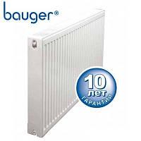 Радиатор стальной панельный BAUGER 11 500x1000 (боковое подключение, 1244 Вт, Турция)