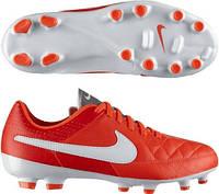 Детские футбольные бутсы  Nike JR Tiempo Genio Leather FG