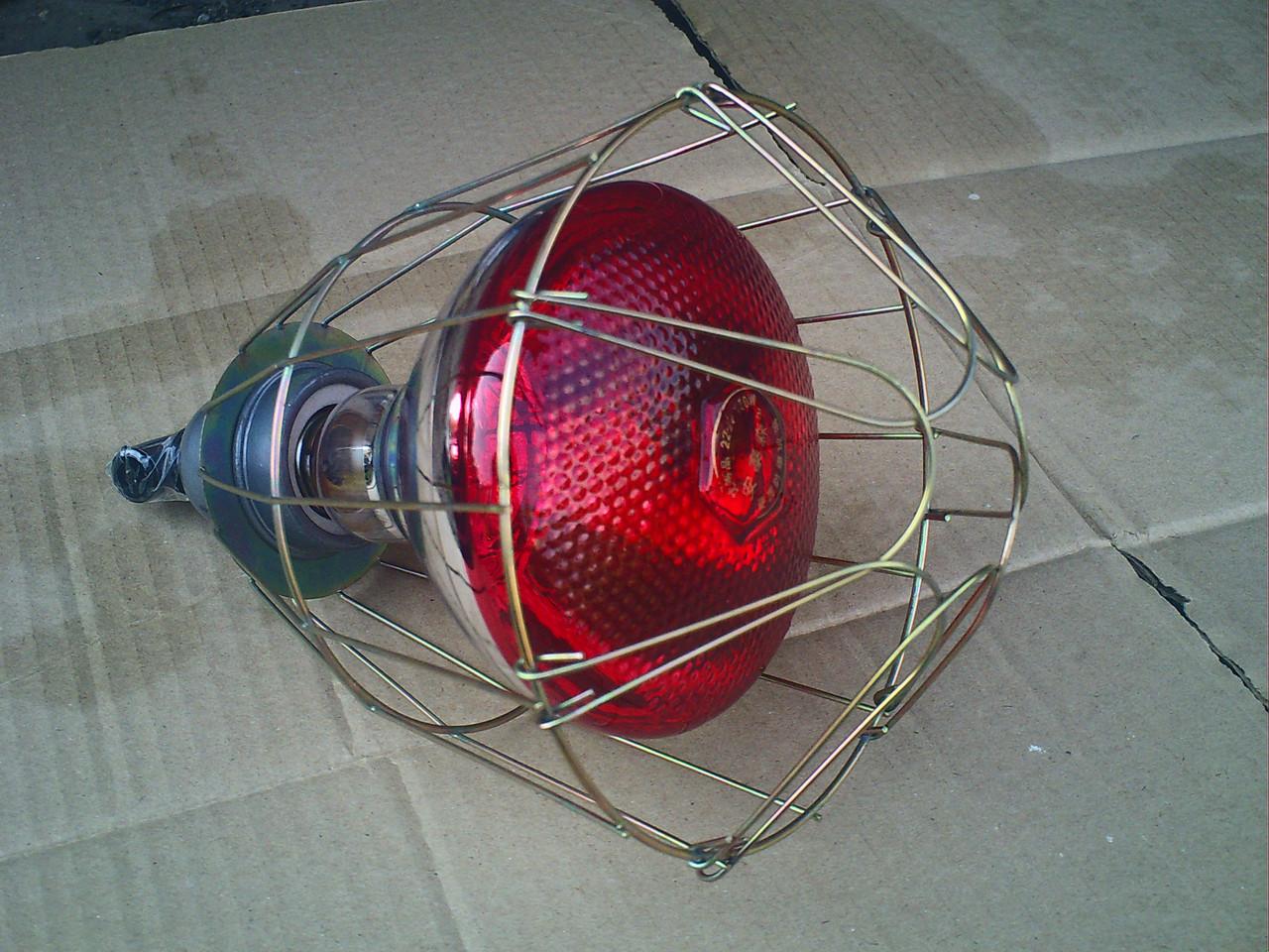 Инфракрасная лампа своими руками