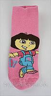 Носки детские махровые с персонажами мультфильмов Даша