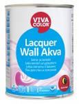 Лак для дерева для внутренних работ на водной основе Lacquer Wall Akva, Vivacolor (Виваколор) 2,7