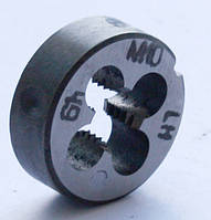 Плашка левая М-10х1,5 LH, 9ХС, (30/10 мм), основной шаг