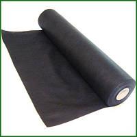 Агроткань, агротекстиль полипропиленовый черный 4х25, фото 1