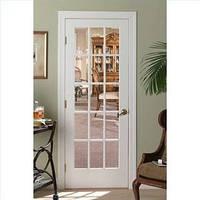 Дверь белая со стеклом, купить в