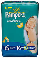 Pampers Active Baby 6 (15+ кг)
