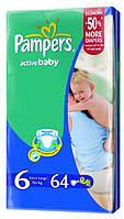 Pampers Active Baby 6 (16+ кг)