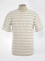Вишиванка чоловіча з коротким рукавом біла/ Вышиванка мужская с коротким рукавом белая 0221