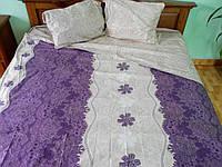 АКЦИЯ!Евро комплект постельного белья Турецкий Иней
