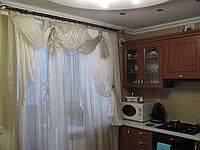 Кухонный ламбрекен,тюль для кухни,кухонная арка