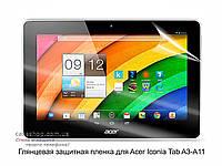 Глянцевая защитная пленка для Acer Iconia Tab A3-A11
