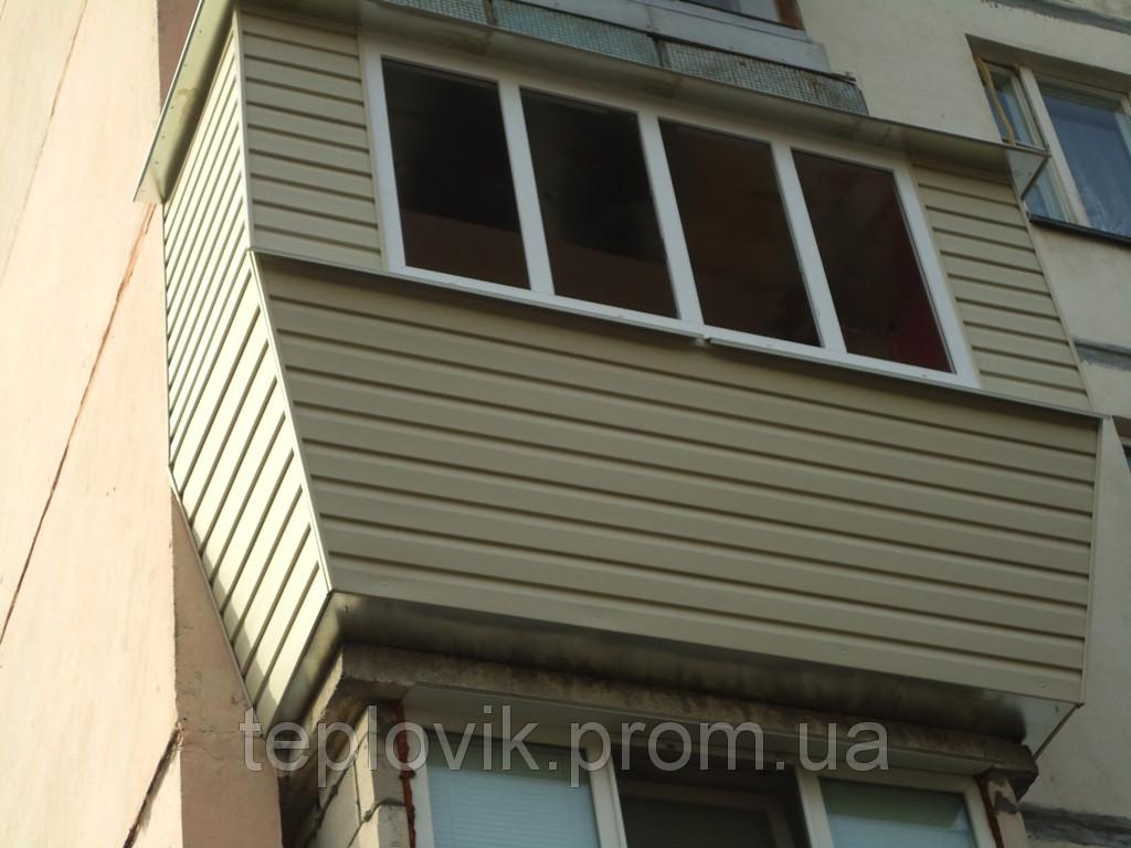 Балкон отделанный своими руками
