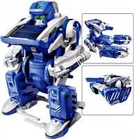 Конструктор с солнечными батареями 3 в 1 SOLAR ROBOT (Робот, Танк, Скорпион). Без коробки.
