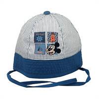 Детская панамка Микки синяя, Дисней (Disney)