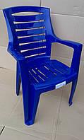 """Кресло пластиковое """"Рекс"""" (синее)"""