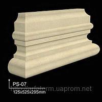 Базы колонн, базы пилястр 125x525x295