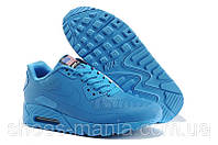 Женские кроссовки Nike Air Max 90 Hyperfuse (USA) blue