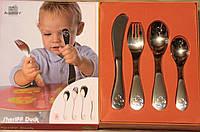 """Детские столовые приборы BergHOFF """"Baby Sheriff Duck"""" (1100098)"""