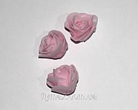 Головка розы латексная. Розовая (500 шт.)