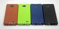 Защитный бампер, силиконовый чехол в украине для смартфона JiaYu G3, G3S цвет черный