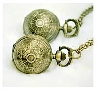 """Часы-подвеска """"Винтажный шар"""" с кварцевым механизмом"""