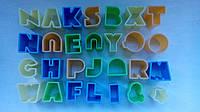 Вырубка кондитерская Алфавит