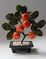 Мандариновое дерево-символ богатства (нефрит и змеевик)
