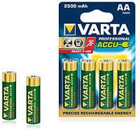 Аккумуляторы Varta AA 2600 4шт, аккумуляторные батарейки