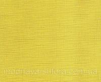 """Тканевые рулонные шторы """"Oasis"""" лен (желтый), РАЗМЕР 42,5х170 см"""
