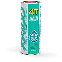 Синтетическое моторное масло для четырёхтактных двигателей XADO Atomic Oil 10W-40 4T MA SuperSynthetic