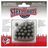 Стальные шарики для стрельбы с рогатки. 10 мм.