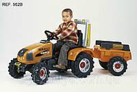 Трактор на педали для детей. RENAULT Ares, Celtis