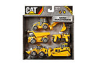 Набор инерционных мини-машинок CAT