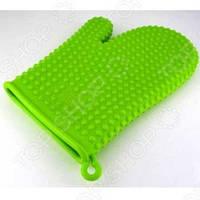 Кухонная рукавица зеленая, STAHLBERG, арт. 2610-S