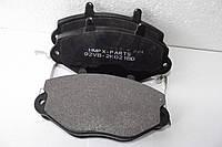Передние тормозные колодки для Ford Transit 2.5 d/td колеса R 15 , односкатный. Форд Транзит 1989/2000.